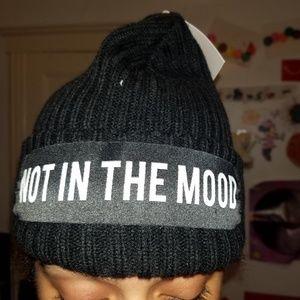 """Zara Women's hat """"NOT IN THE MOOD"""""""